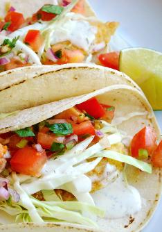 Baja fish tacos marlene koch marlene koch for Baja fish taco sauce