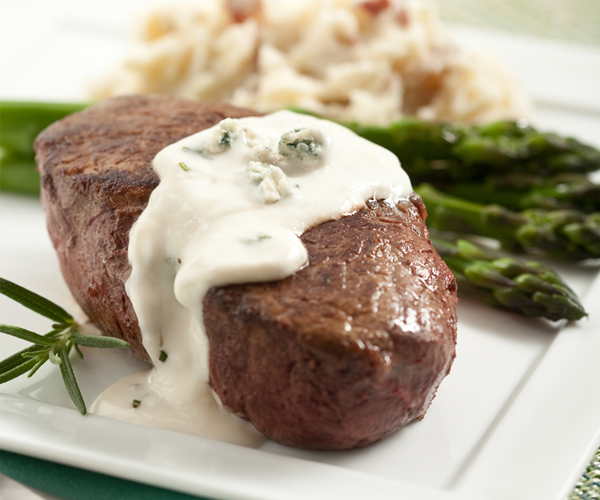 Not Everyday Beef Tenderloin with Gorgonzola Sauce