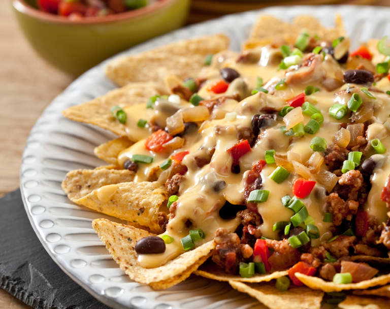 Cheesy Chili Nachos
