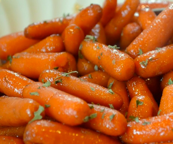 Easiest Ever Glazed Carrots