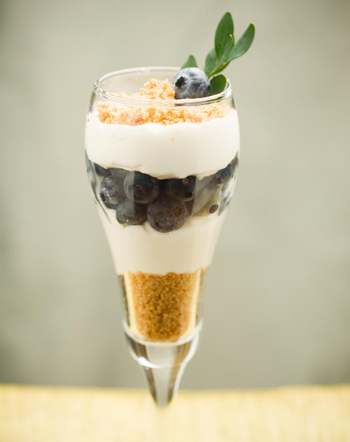 No-Bake Berry-Good Cheesecake Parfaits