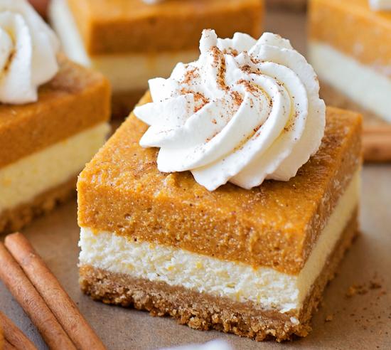 Pumpkin Pie Cheesecake Squares Marlene Koch Marlene Koch