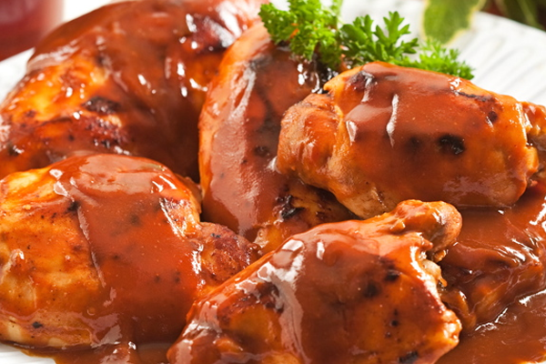 Root Beer Barbequed Chicken