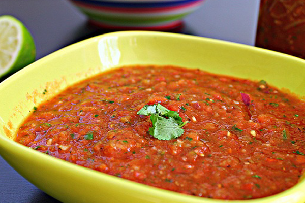 Two-Minute Fire-Roasted Salsa