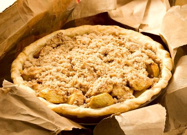 Apple Pie in a Bag
