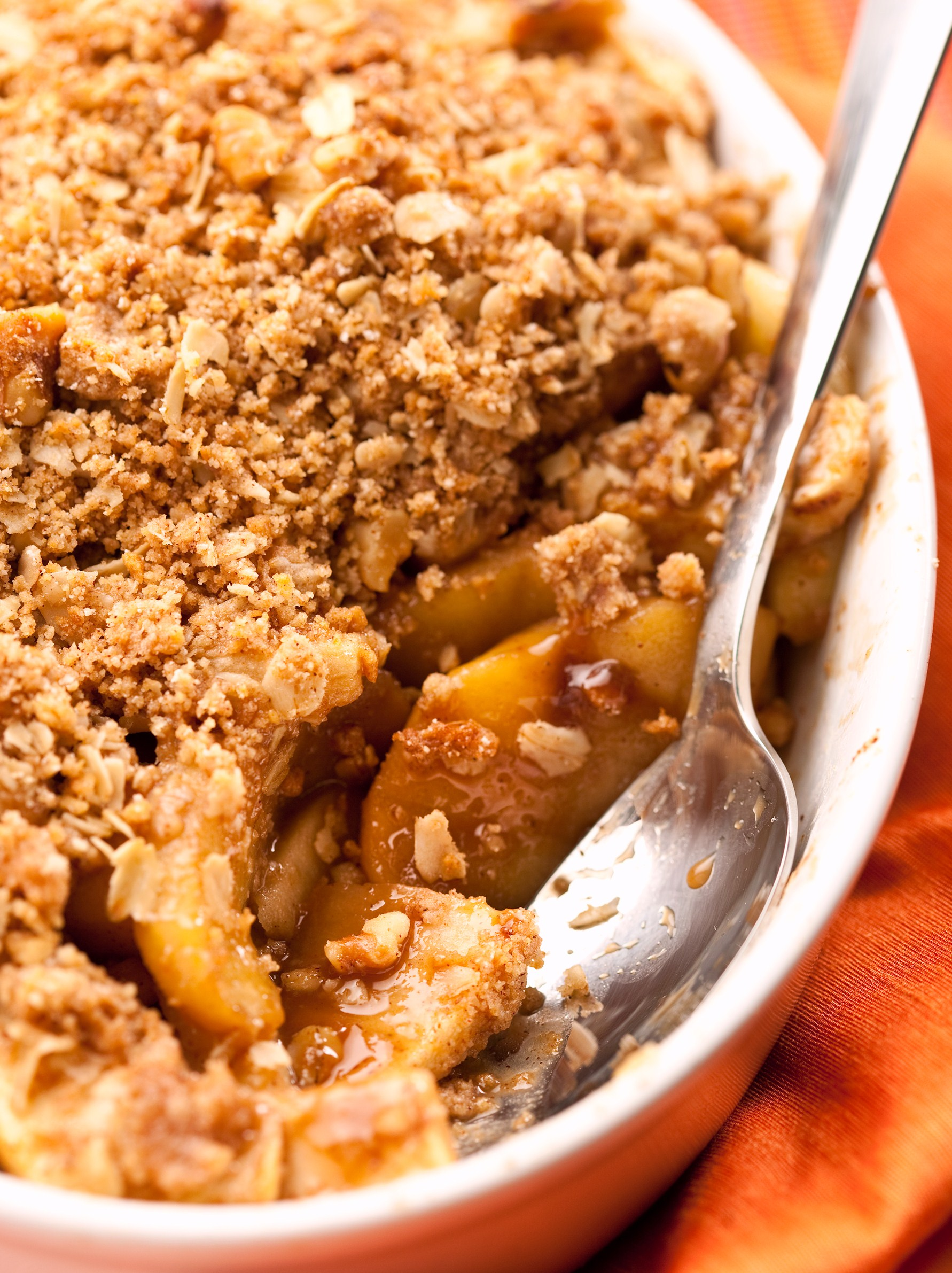 Low Sugar Cinnamon Apple Crisp