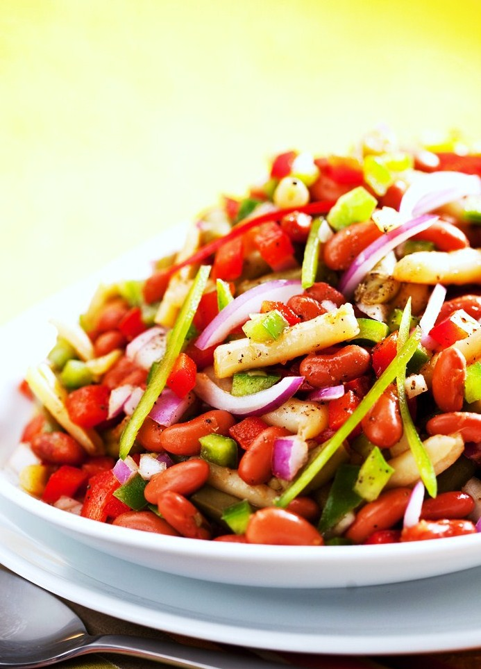 Best Ever Three Bean Salad