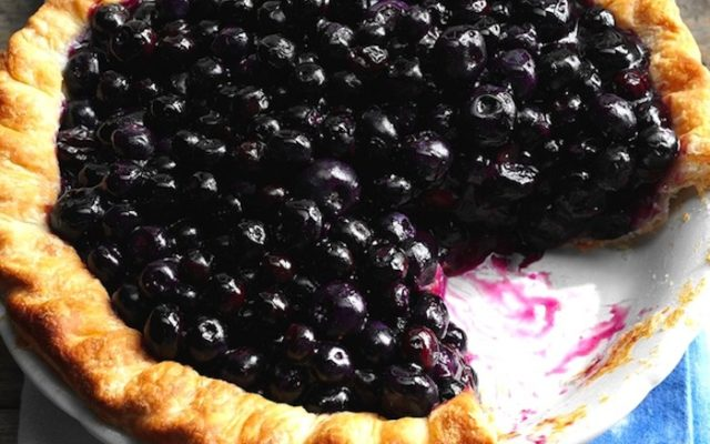Easiest Ever (20-minute) Guilt-Free Blueberry Pie