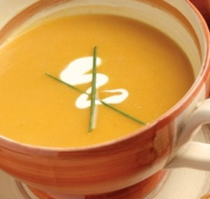 """Cream"" of Butternut Squash Soup"