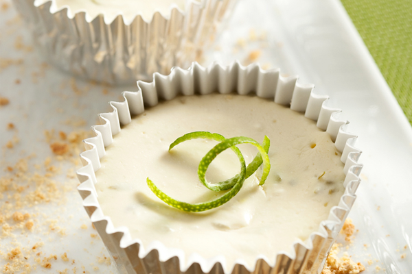 "Key Lime Cheesecake ""Cupcakes"""
