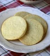 Sugar-Free Lemon Shortbread
