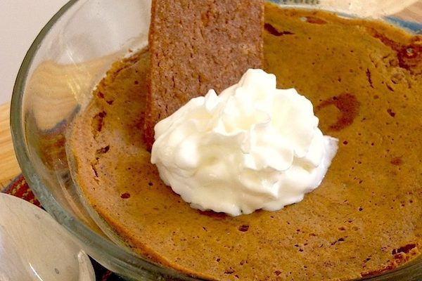 "2-Minute Microwave Pumpkin ""Pie"""