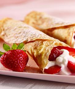 Strawberry Cheesecake Crepes - Marlene Koch Marlene Koch