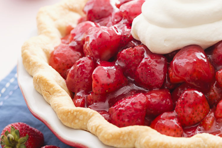 20 Minute Fresh Strawberry Pie Marlene Koch Marlene Koch