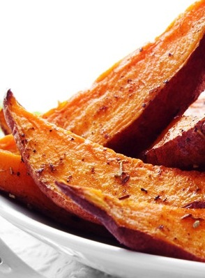 Easy Sweet Potato Wedges