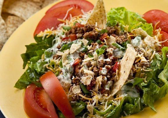 Quick 'n Healthy Taco Salad