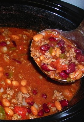 Wendy's-Style Slow Cooker Chili